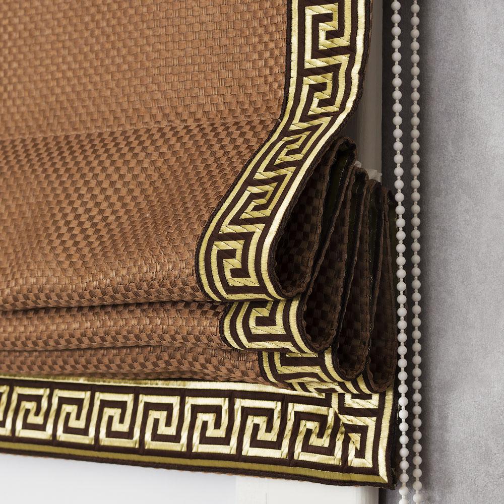 Римская штора с карнизом Bronte 150 с кантом
