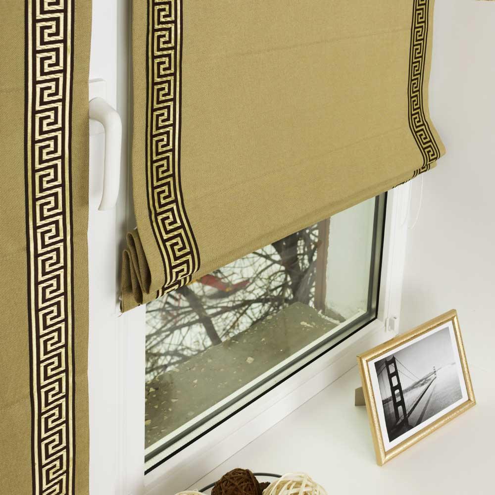 Мини римская штора Diana M22 с кантом